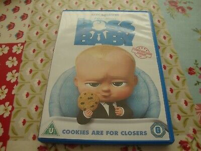 The Boss Baby (DVD 2017) Dreamworks DVD with the voice of Alec Baldwin
