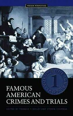 Famous American Crimes and Trials 5 Vols by Steven Chermak (English) Hardcover B