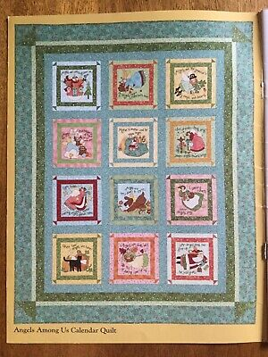 Block Of The Into Quilt Kit 'Angels Among Us' By Nancy Halvorson