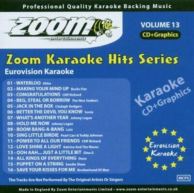 ZOOM KARAOKE 1000 Song MP3+G Collection - 10 x DVD-ROMs