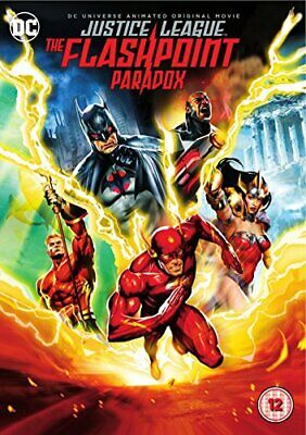DCU: Justice League: The Flashpoint Paradox [DVD] [2017] - DVD  XJLN The Cheap
