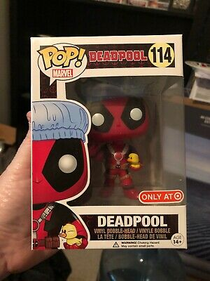 Funko Pop Marvel Deadpool Bath Time Only At Target Exclusive Figure #114