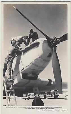 WW2 RAAF Postcard Fairey Battle