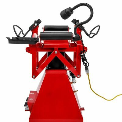 Air Operated Tire Changer Spreader Pneumatic Tire Repair Machine Foot Pedal Red
