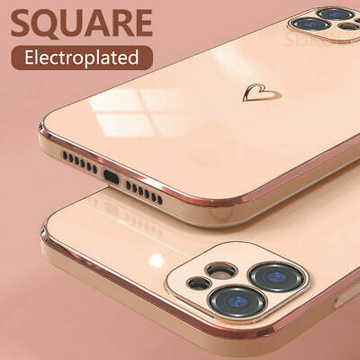 Shockproof Cute Clear Silicone Soft Case Cover For iPhone XS Max XR 8 7 6s Plus