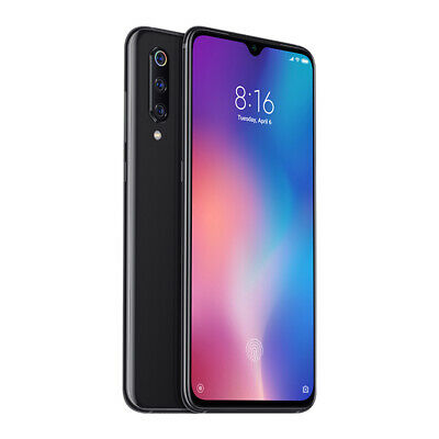 "Xiaomi Mi 9 64GB 6GB Black Smartphone 6,39"" NFC Global Version EU Plug Dual SIM"