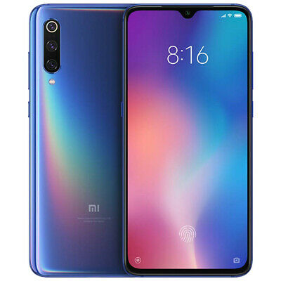 "Xiaomi Mi 9 128GB 6GB  Blue Smartphone 6,39"" NFC Global Version EU Plug Dual SIM"