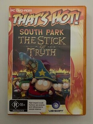 BRAND NEW - South Park the Stick of Truth (PC DVD) Complete w/ Manual