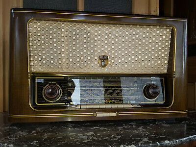 radio antigua wega type 301/501 radio alemana