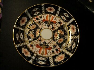 ROYAL CROWN DERBY Imari 2451 Saucer Excellent Condition c.1911 1st quality