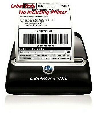 4 Rolls 880 Labes 4x6 Thermal Shipping Label 220/Roll FIT Dymo 4XL 1744907 USPS
