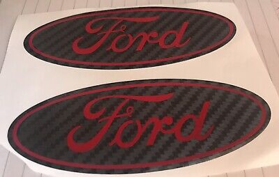 Ford FIESTA Mk6 Mk7 Mk7.5 St Line Gel Domed Overlays Badges Any Colours