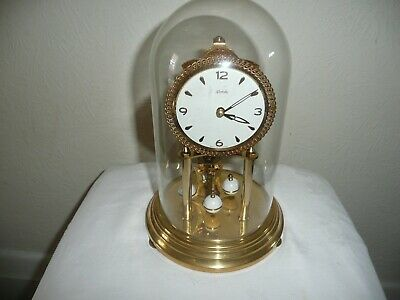 Vintage, Kundo Anniversary Clock With Miniature Movement, Sold For Restoration.