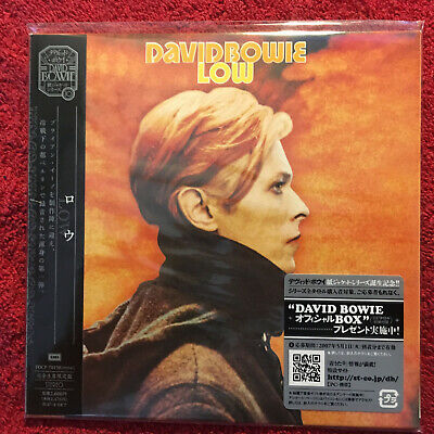 David Bowie    Low   Album  Cd Japan Press Emi 2007 Perfect Sealed