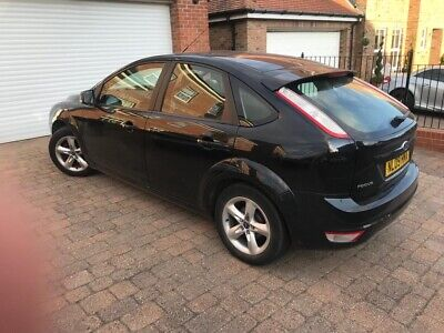 Black Ford Focus. 1.6 turbo diesel. TDCI. Immaculate condition