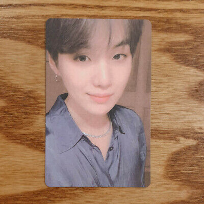 Suga Official Photocard BTS Map Of The Soul : Persona ver.02 Genuine Kpop