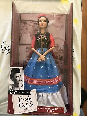 Frida Kahlo Barbie . Collectors Item . New In Box