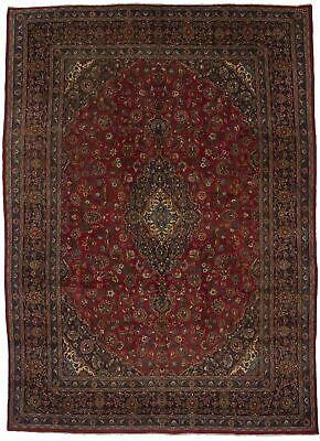 Handmade Semi Antique 9X13 Traditional Vintage Oriental Rug Home Décor Carpet