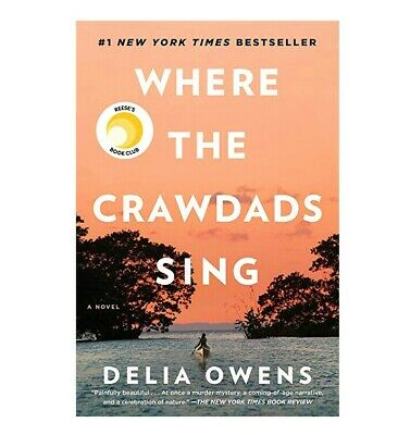 WHERE THE CRAWDADS SING (Delia Owens) Hardcover