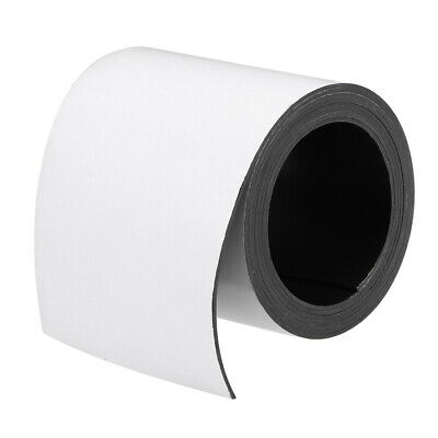 Dry Erase Flexible Magnetic Strip 4 Inch x 6.5 Feet Magnetical Tape Labels