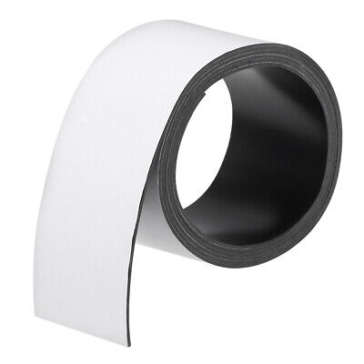 Dry Erase Flexible Magnetic Strip 2 23/64 Inch x 6.5 Feet Magnetical Tape Labels