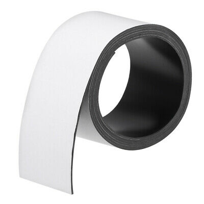 Dry Erase  Magnetic Strip 2 23/64 Inch x 6.5 Feet Magnetical Tape Labels