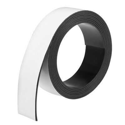 Dry Erase Flexible Magnetic Strip 1 3/16 Inch x 6.5 Feet Magnetic Tape Labels