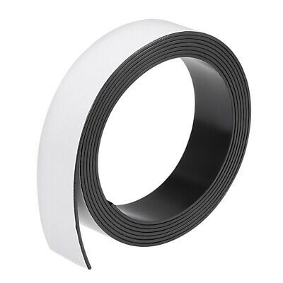 Dry Erase Flexible Magnetic Strip 1 Inch x 6.5 Feet Magnetic Tape Sticky Labels