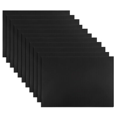 """10 Pcs  Magnetic Strip 11.7"""" x 8"""" Magnetical Sheet Stickers for Crafts"""