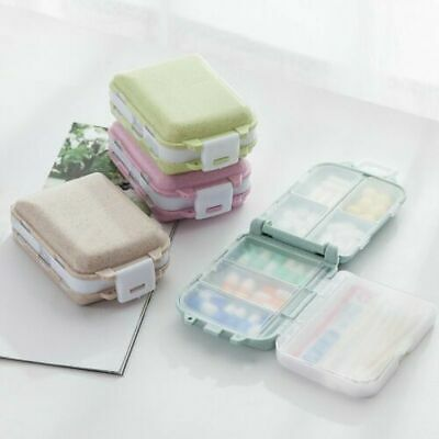 NEW 7 Day Pill Box Boxes Container Storage Medicine Tablet Weekly Organiser Case