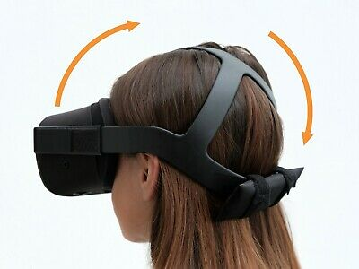 Headband back-weight for Oculus Quest to make the headset more comfortable