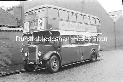 PHOTO Ribble Leyland PD 1396 HRN36 in 1970