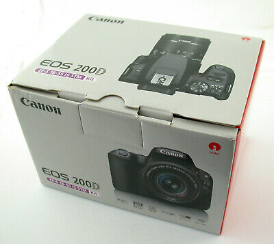 CANON EOS 200D EFS 18-55 18-55mm IS STM Demo Neuzustand new condition OVP boxed