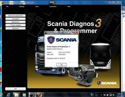 ✔️NEWEST 2019 SCANIA Diagnos 3 & Programmer Multilanguage