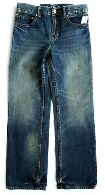 Kids GAP Boys Jeans Faded Denim Loose Coupe Straight Trousers Vintage 12 £19.95