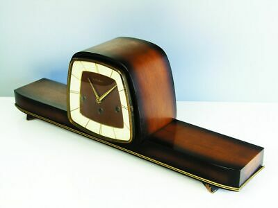 Later Art Deco Westminster Chiming Mantel Clock From Hermle - Ankra