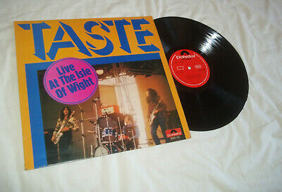 rory gallagher  taste  live at the isle of wight    1971     A1 / B1