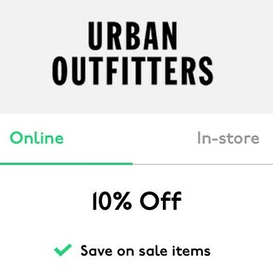 Urban Outfitters Discount Code 10%