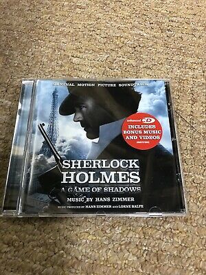 Sherlock Holmes Original  Movie Soundtrack CD Hans Zimmer