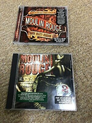 Moulin Rouge Original  Movie Soundtrack CD Craig Armstrong And Various