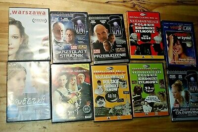 Polish DVD action films lot of 10