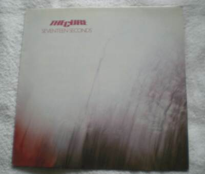 THE CURE    SEVENTEEN SECONDS   Early UK Repress  FIXD4   LP