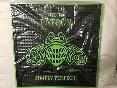 PATRON Tequila BAR MAT 17 x 17---BRAND NEW in Package