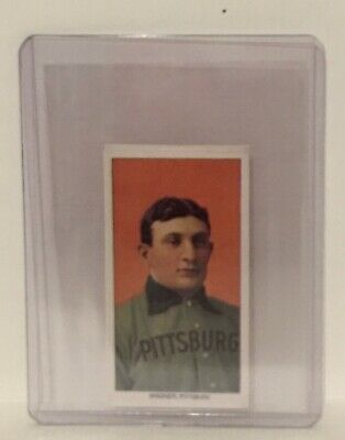 Honus Wagner T-206 Card of 1909-1911 Limited Edition Reprint # 3928 Pittsburg