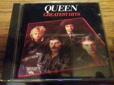 Queen - Greatest Hits (CD 1994) ROCK, Freddie Mercury, Brian May, Roger Taylor