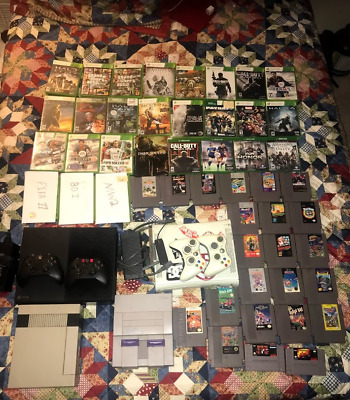 All My Video games and consoles