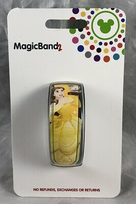 Disney Parks Belle Princess Beauty and the Beast Adventure Magic Band 2 WDW NEW