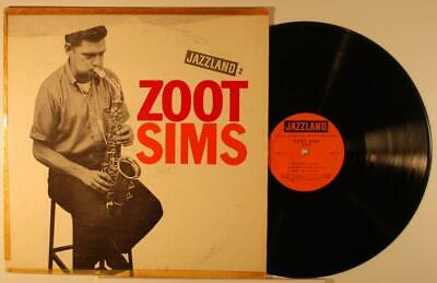 Zoot Sims LP 1960 Jazzland JLP-2 orange label original vg-