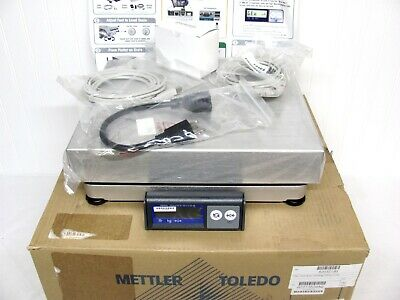 NEW! Mettler Toledo PS60 Shipping Parcel 150 lbs SCALE +Box