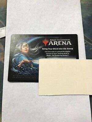 MAGIC MTG ARENA EMAIL CODE Mu Yanling Planeswalker Deck CORE SET 2020 M20